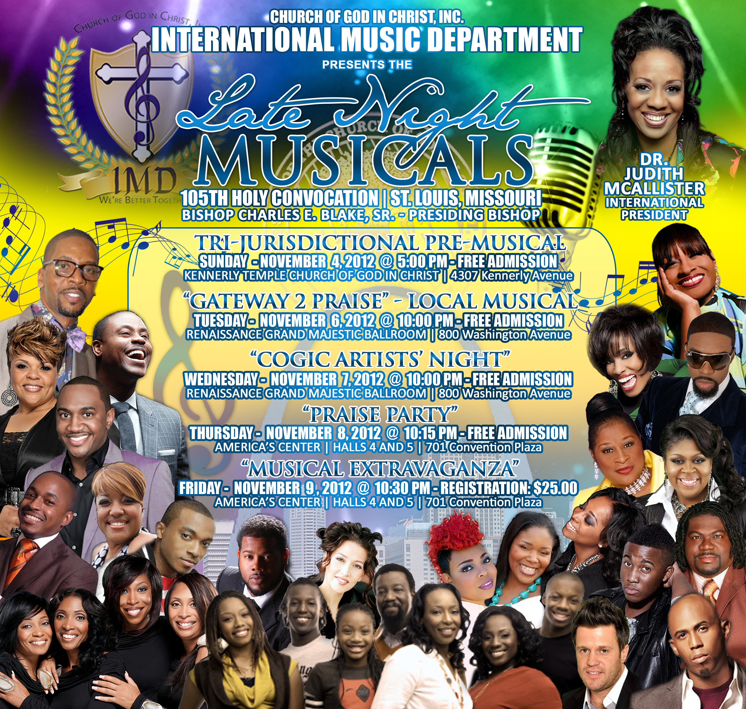 2012MUSICALS of the 105th annual holy convocation