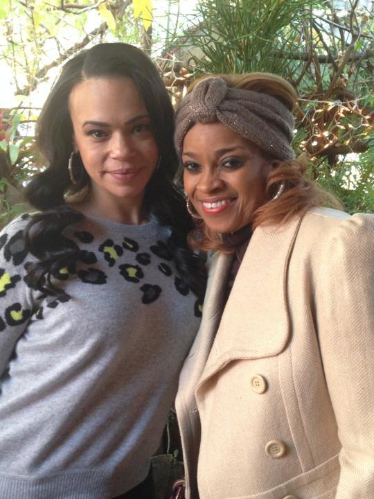 faith evans + karen clark sheard