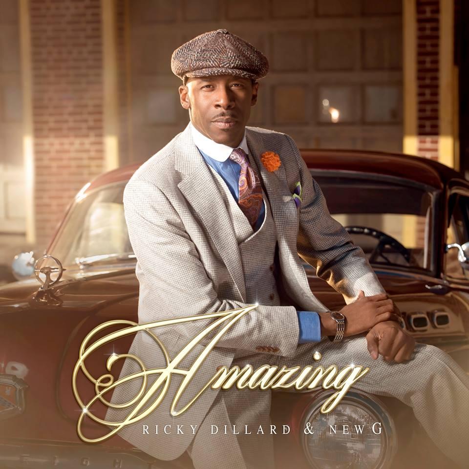 Ricky Dillard amazing album cover