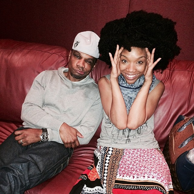 kirk franklin and brandy