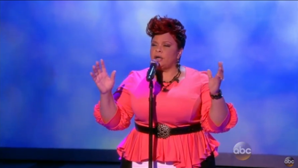 tamela mann on the view