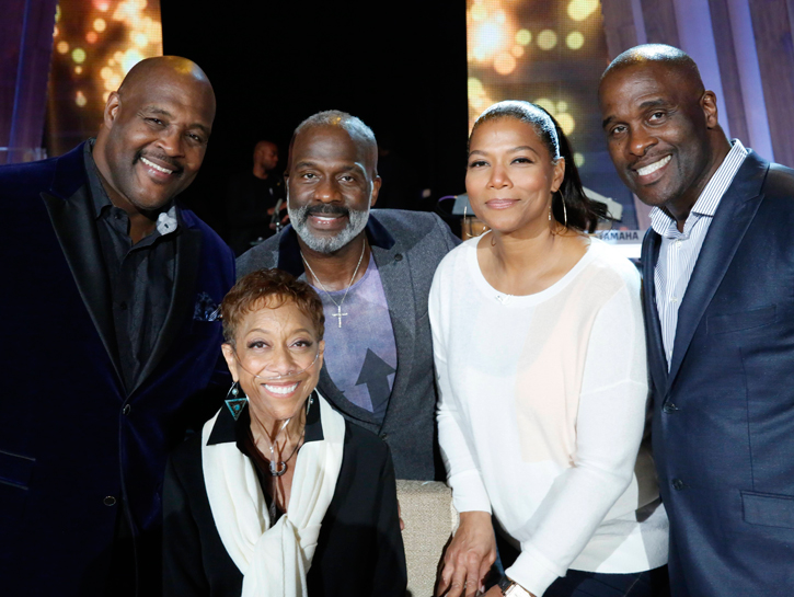 winans brothers and queen latifah